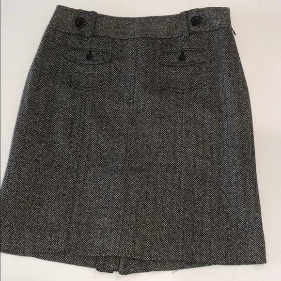 Ann Taylor Dresses & Skirts - Ann Taylor Herringbone wool skirt